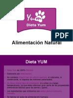 Guia alimentacion Dieta YUM