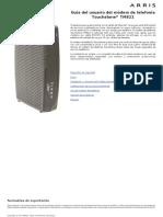 Arris Modem PTV Procono Modelo-TM822 User Guide Std1-2 ES