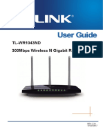 Router Tp-link Tl-wr1043nd User Guide