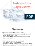 History of Automobile
