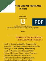 Urban Heritagein India