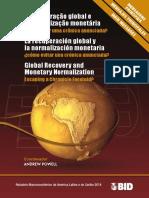 La Recuperación Global y La Normalización Monetaria- ¿Cómo Evitar Una Crónica Anunciada-