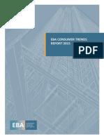 EBA Consumer Trends Report 2015