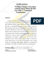 A Novel PWM High Voltage Conversion Ratio Bi