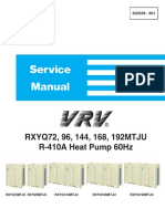 VRV Heat Pump Service Manual - Daikin SiUS39-601