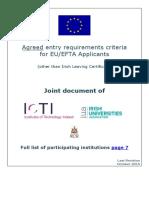 Guidelines EU EFTA