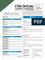 Boletín Oficial de la República Argentina, Número 33.408. 29 de junio de 2016