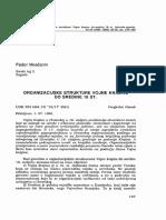 Fedor Moačanin - Organizacijska Struktura Vojne Krajine