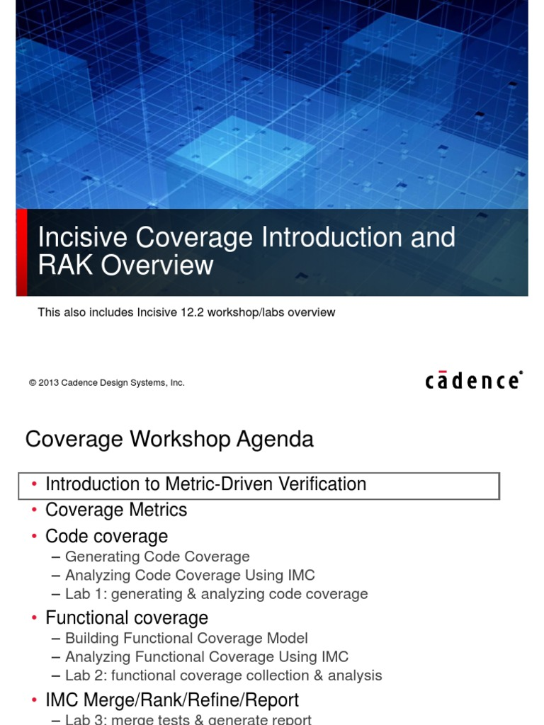 Coverage ws overview formal verification command line interface fandeluxe Images