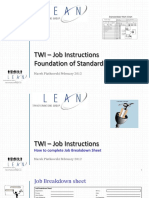 Twi Job Instructions Std Work