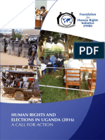 Human rights and elections in Uganda