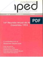 Caderno ANPED N.6 Out 1994