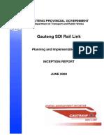 Gauteng SDI Rail Link