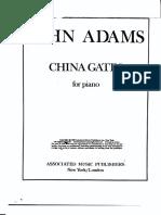 John Adams - China gates