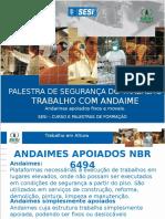 Andaimes - 2012 Em Vigor