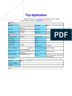 Gurgoan Trip Application