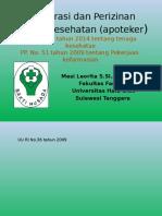 Registrasi Dan Perizinan Tenaga Kesehatan(1)