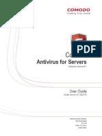 Comodo Antivirus for Servers User Guide