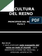 Principios Del Reino I Parte Serie Cultura Del Reino