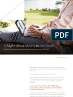 10 Myths About Moving to the Cloud eBook