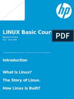 Linux Basic Course Ionrivera