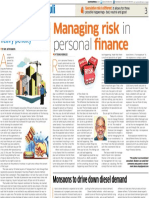 18. Managing Risk in Personal Finance 20 Jun 16