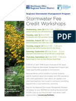 NEORSD Stormwater Credit Workshops Summer2016