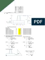 003-Retaining Wall Calculation