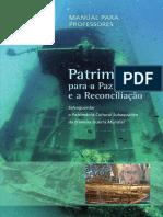 Património para Paz Reconcialicao - Manual.prof