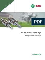 Fag Waterpump Bearings