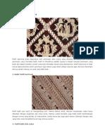 Batik Motif Ciptoning