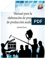 Manual Para La Elaboración de Guiones Técnicos de Producción Audiovisual