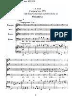 BACH BWV 179