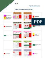 Calendario Escolar Granada 2016-2017 - Notilogía