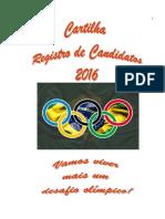 TRE BA Cartilha Registro Candidatura 2016 Novissima