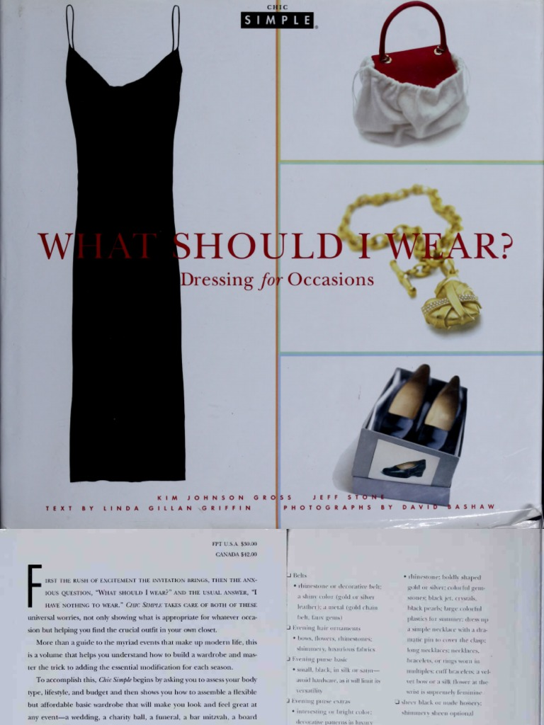 What should I wear dressing for occasions pdf | Suit (Clothing