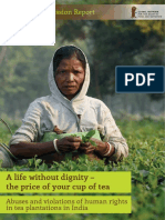Fact-Finding Report on Tea Workers, India