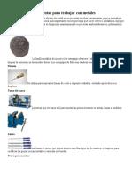 herramientas para metal.doc