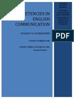 Effective Communication Course Notes