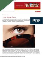 Plástica & Beleza - O Universo da Cirurgia Plástica e Estética Eyelash & Eyebrow Transplants by Dr Alan Bauman