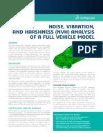 Auto Noise Vibration Harshness Analysis Full Vehicle