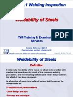 22-WIS5 Weldability 2006