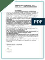 USO DEL MANOMETRO DIFERENCIAL  EN LA DETERMINACION  DE LA CAPACIDAD PULMONAR