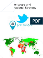 Periscope and International Strategy