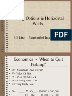 Fishing Options in Horizontal Wells
