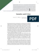 Genetics and Crime