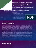 Diapositias de Pectina