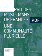 Nadia Henni-Moulaï - Portrait des musulmans de France