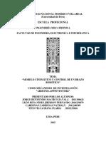 Informe Robotica Mecatronica