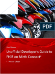 Unofficial Developer's Guide to FHIR on Mirth Connect